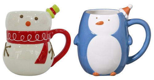 im a sucker for cute coffee mugs and when the holidays roll around im always on the lookout i love these mugs from target